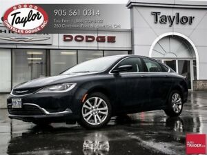2016 Chrysler 200 Limited w/Sunroof, Backup Cam, Remote Start, H