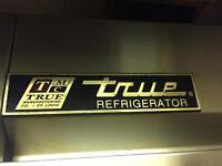True single door fridge