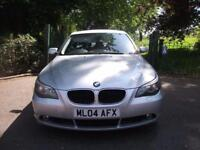 BMW 5 SERIES 530d SE 4dr Auto + FREE 3M WARRANTY + FINANCE AVAILABLE + CALL 01162149247 2004