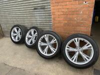 """21"""" GENUINE Audi alloys&tyres"""