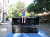 Large Disco PA Speaker System