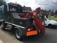 24/7 Accident breakdown recovery service for cars vans trucks