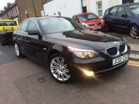 BMW 520D DIESEL 2007 AUTOMATIC FACE LIFT LCI VERY CLEAN LEATHERS LONG MOT GREAT CAR