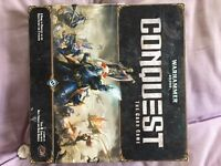 Warhammer 40k Conquest Board Game FFG Complete