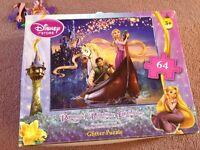 Rapunzel Glitter Jigsaw