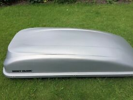 Top Box, only used twice, excellent condition, all fastenings and key included, 5 litre + capasity