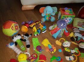 Bundle of Newborn Baby Toys