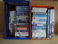 VHS Videos 49 films - Collection Only