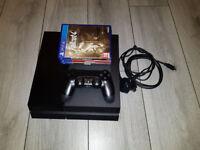 Playstation 4 500gb + 3 Games