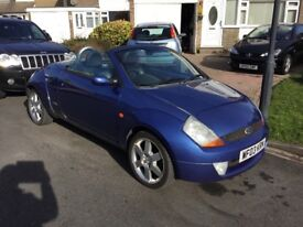 Ford street ka sport luxury 1.6 convertible 2004 facelift model mot august some service history