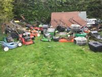 20 lawnmowers