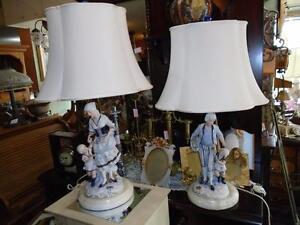 ENS. LAMPE DE TABLE AU CHOIX
