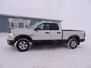 2014 RAM 1500 ECO DIESEL OUTDOORSMAN, 4X4, ONLY 97000 KM !
