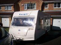 Bailey Ranger 510 Four berth touring caravan (2008)