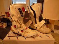 Mens SIDI Boots R180 size 10.5 white