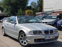 BMW 3 Series 2.2 320Ci Convertible Full Service History Sat/Nav Harman Kardon 2 Keys + WARRANTY