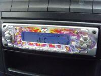 JVC Multi-colour CD Player Radio Car Stereo
