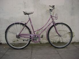 Commuter/ Town Bike by Raleigh, Lavender, Great Condition!!!, JUST SERVICED/ CHEAP PRICE!!!