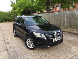 CHEAPEST 2009 Volkswagen Tiguan 2 Lady owners 2.0 TDI Automatic 4x4 Service history VW Semi Auto
