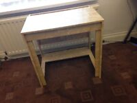 Ikea Desk - Birch Effect