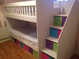 Handmade and custom made children's bunk beds any colour