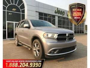 2015 Dodge Durango Limited| AWD| Leather| Sunroof| Low KM