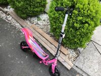Space scooter used pink