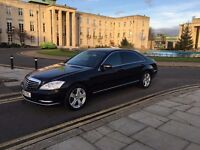 PRIVATE CHAUFFEUR SERVICES WITH MERCEDES S CLASS 2013 WLB