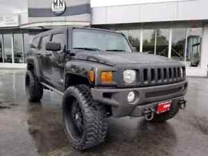 2007 Hummer H3 4WD Leather Sunroof Loaded LOW KMS