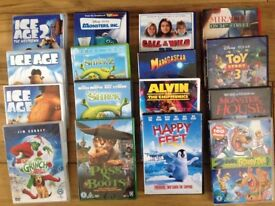 Assorted Kids DVDS