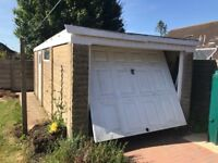 Free sectional Concrete Garage will help buyer dismantle
