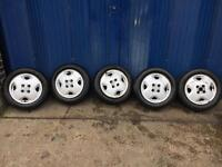 Vauxhall Corsa Alloys with tyres