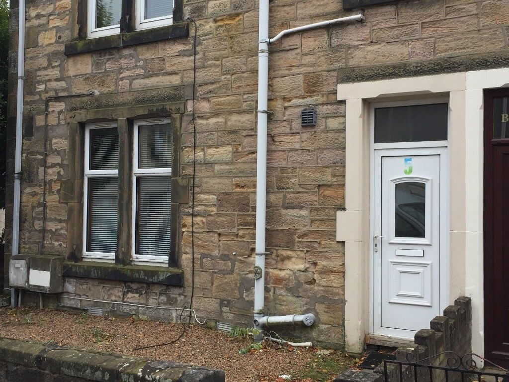ONE Bedroom Flat TO LET - Central kirkcaldy, GCH & DG