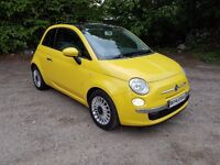 2009 FIAT 500 1.2 LOUNGE PANORAMIC ROOF ! BLUE & ME ! FULL SERVICE HISTORY ! IMMACULATE CONDITION