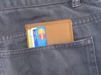 Slim Wallets Purse card Holder - Lot of 150 Wallets