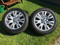 "BMW X5 19"" ALLOY WHEELS AND TYRES"