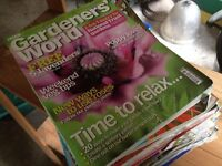 Old Gardener's World magazines