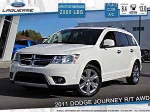 2011 Dodge Journey **R/T*AWD*CUIR*7 PASSAGERS*CRUISE*A/C**