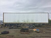 40' articulated trailer's