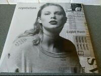 "Taylor Swift - Reputation - Double 12"" Picture Disc Vinyl L.P. - New Sealed"