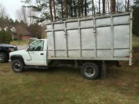 4x4 GMC 2500 with 12' dump box for sale