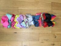 £130 worth of JoJo Bows plus wall hanger