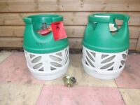 EMPTY BP gas light 5kg Propane gas bottle/cylinder - for Refill/Exchange - with REGULATOR