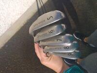 Wilson staff golf clubs