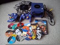 Game cube and a variety of games