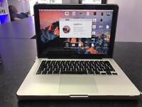 Mac Book Pro i5 processor and 4gb ram 13 inch screen 320gb hard drive