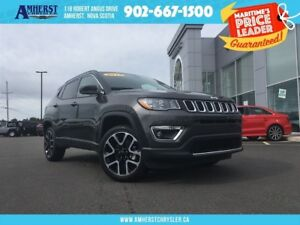 2017 Jeep Compass 4X4 - LEATHER SEATS, NAV, DUAL CLIMATE CONTROL