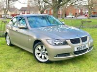2007 BMW 3 SERIES 325I SE ** 51000 MILES ONLY ** FULL SERVICE HISTORY ** 3 MONTHS WARRANTY **
