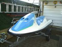 seadoo gt 3 seater jetski trailer not included needs battery and slight attention