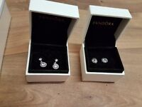 Pandora earrings brand new